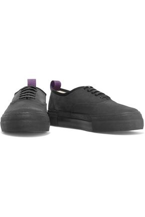 EYTYS Mother Galosch suede and woven platform sneakers