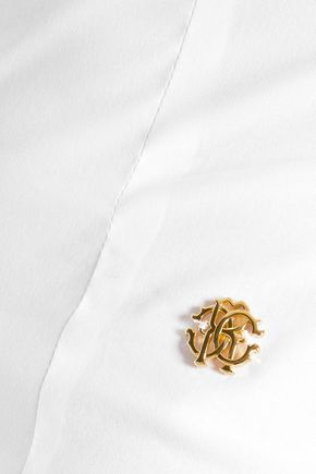 ROBERTO CAVALLI Stretch-cotton shirt