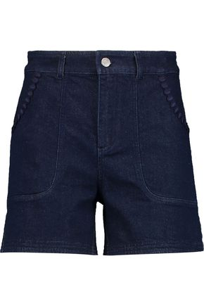 SEE BY CHLOÉ Embroidered denim shorts