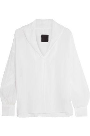 RTA Blanche printed silk shirt