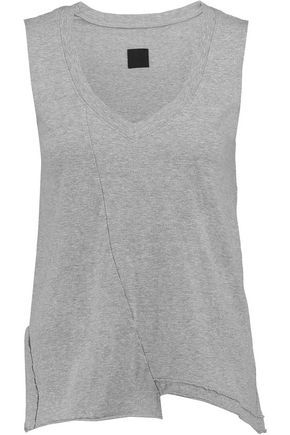 RTA Sid asymmetric cotton tank