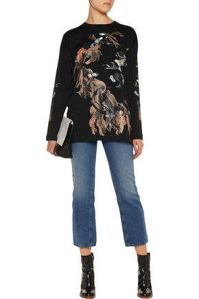MM6 by MAISON MARGIELA Printed cotton-jersey top