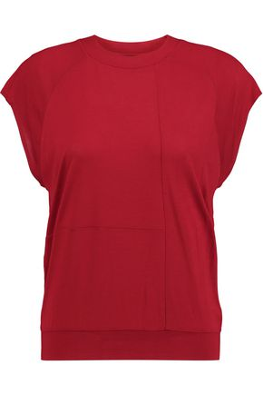 MM6 MAISON MARGIELA Modal and silk-blend jersey top