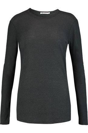 T by ALEXANDER WANG Slub jersey top