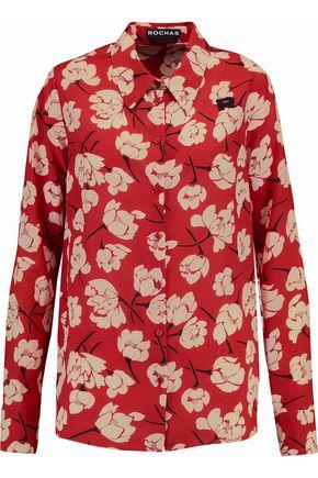 ROCHAS Printed silk shirt