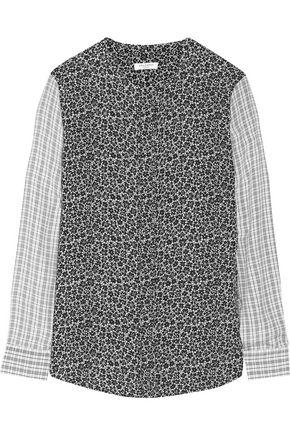 EQUIPMENT Lynn printed washed-silk shirt