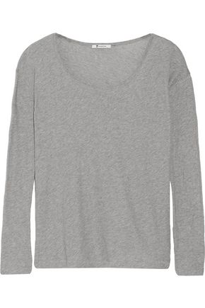 T by ALEXANDER WANG Cotton-jersey top