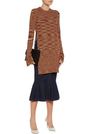 ELLERY Planet Nine ribbed-knit top