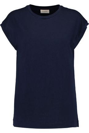 BY MALENE BIRGER Umtra cotton-blend jersey T-shirt