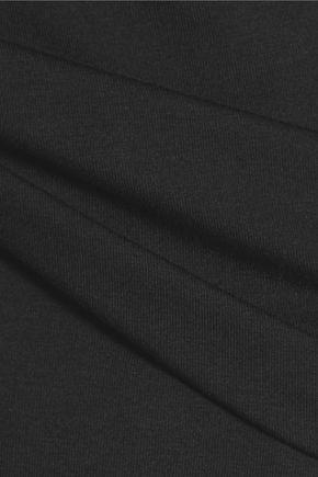 GANNI Stretch-jersey turtleneck top