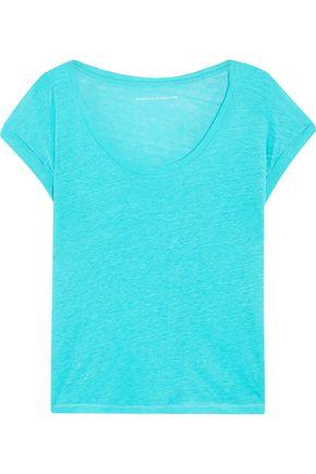 MAJESTIC FILATURES Slub linen T-shirt