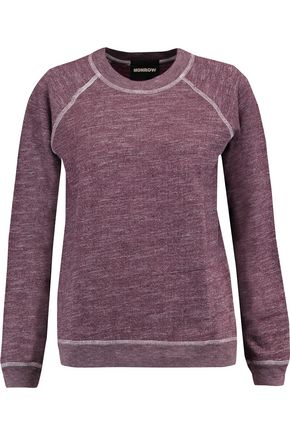 MONROW Stretch-jersey sweatshirt