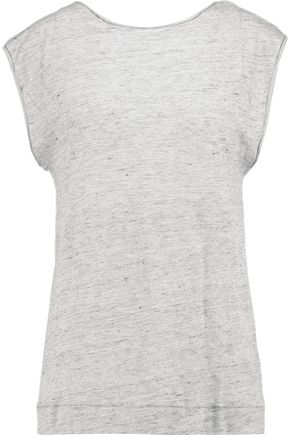 BY MALENE BIRGER Analisa twisted linen-jersey top