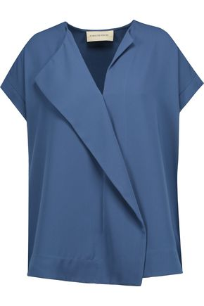 BY MALENE BIRGER Tobson draped crepe top