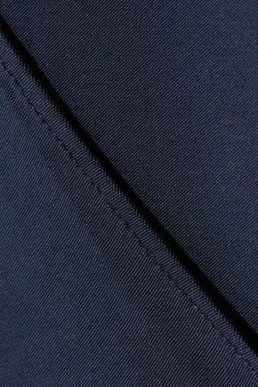CUSHNIE ET OCHS Twisted wrap-effect stretch-jersey bodysuit