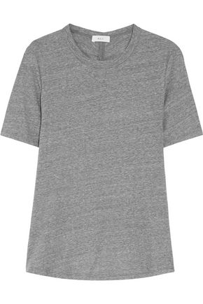 A.L.C. Elena ruched cotton-jersey T-shirt