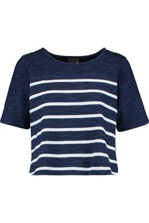 AG Jeans Striped cotton top