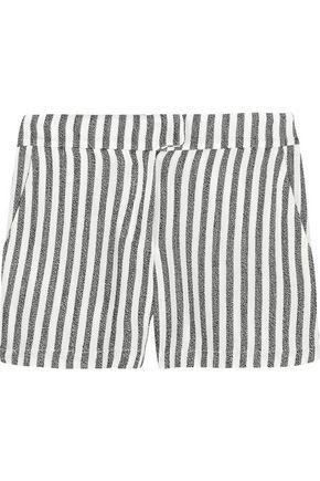 KAIN LABEL Ani striped twill shorts