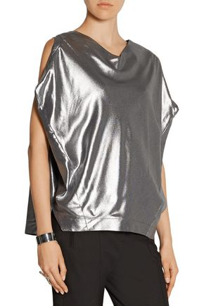 VIVIENNE WESTWOOD ANGLOMANIA Erno lamé top