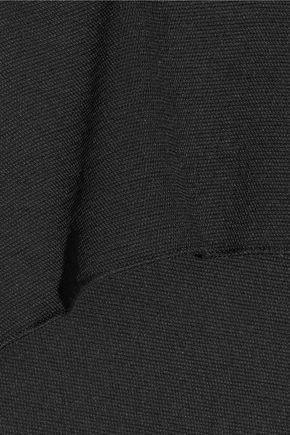 MAJE Farra piqué shorts