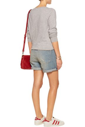 RAG & BONE Boyfriend distressed denim shorts