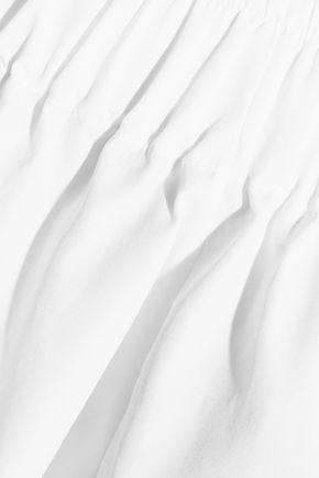 TOD'S Off-the-shoulder cotton-poplin top