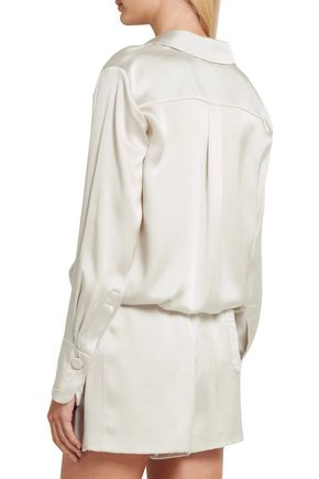 CHLOÉ Silk-satin blouse