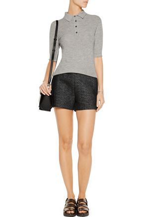 T by ALEXANDER WANG Scuba French-terry shorts