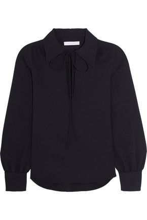 SEE BY CHLOÉ Stretch-crepe blouse