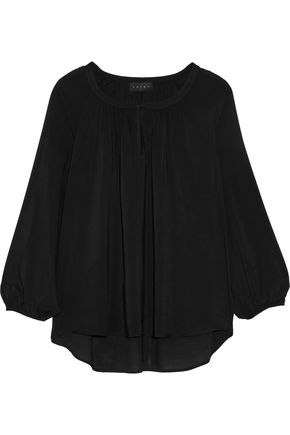 HATCH The Sahara crepe de chine blouse