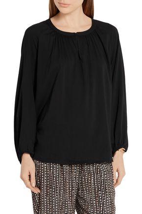 HATCH The Sahara crepe de chine blouse