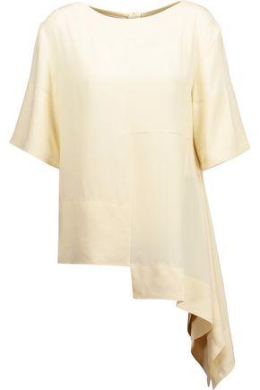 MARNI Asymmetric crepe blouse
