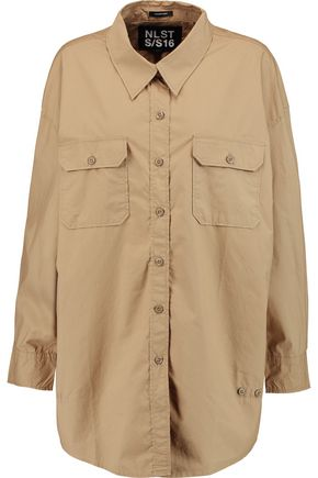 NLST Crossover cotton-poplin shirt