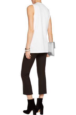 3.1 PHILLIP LIM Lace-up cotton-jersey tank