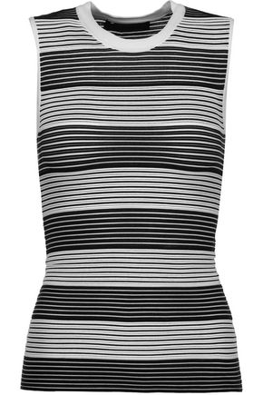 ALEXANDER WANG Ribbed stretch-knit top