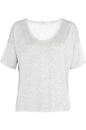 T by ALEXANDER WANG Marled jersey T-shirt
