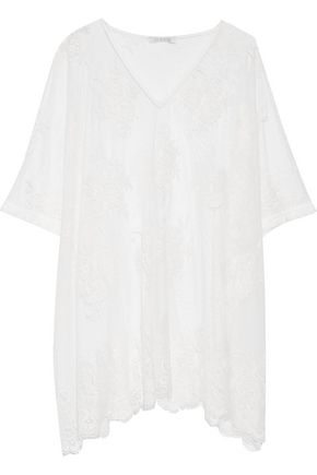 ALEXIS Minn Chantilly lace coverup