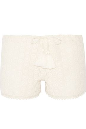 TALITHA Pia crocheted lace shorts