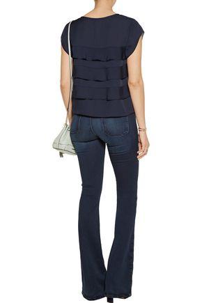 JOIE Irvin tiered silk blouse