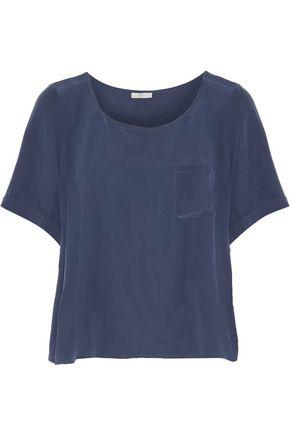 JOIE Sarita B washed-silk top