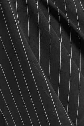 ZIMMERMANN Ruffled striped crepe shirt