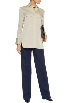 BY MALENE BIRGER Candillani washed stretch-silk blouse