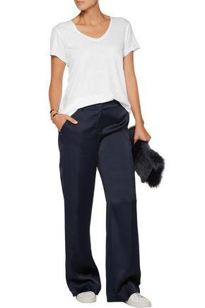 HELMUT LANG Cotton and cashmere-blend T-shirt