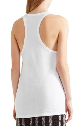 T by ALEXANDER WANG Classic racer-back jersey tank