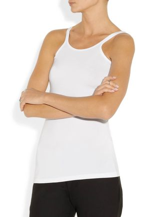 T by ALEXANDER WANG Stretch-modal tank