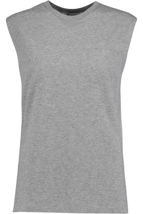 T by ALEXANDER WANG Cotton-jersey tank