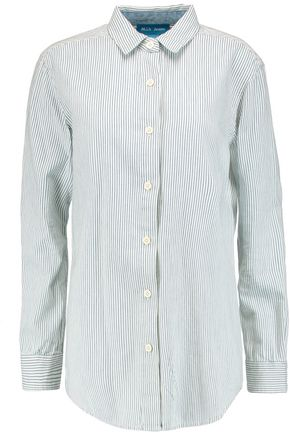 M.I.H JEANS Striped cotton shirt