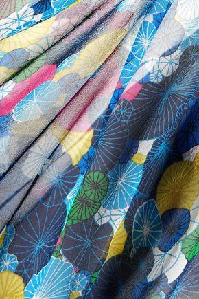 DIANE VON FURSTENBERG Emelia printed silk-chiffon top