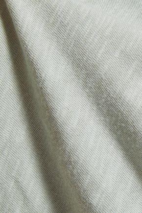 TART COLLECTIONS Zariyah cutout slub cotton-jersey top