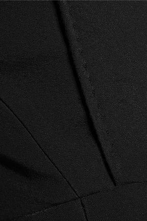 ANTONIO BERARDI Off-the-shoulder asymmetric crepe top